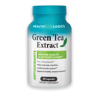 Green Tea Extract 60 Caps by Health Logics (2588344483925)