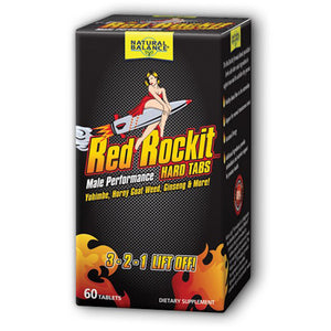 Red Rockit Male Performance Tablets 60 Tabs by Natural Balance (Formerly known as Trimedica)  (2590200234069)