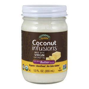Coconut Infusions Butter 12 oz by Now Foods (2588386951253)