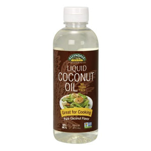 Liquid Coconut Oil 16 oz by Now Foods