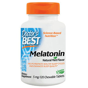 Melatonin 120 Chews by Doctors Best (2588387803221)