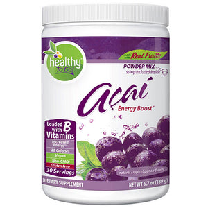 Acai Energy Boost 6.7 oz by To Go Brands Inc