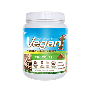 Vegan1 Protein Shake Chocolate 10/1.7 oz by NUTRITION 53