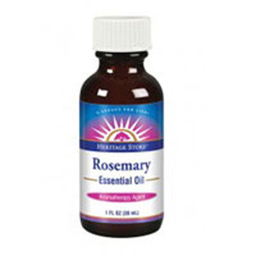 Essential Oil Rosemary 1 OZ by Heritage Products