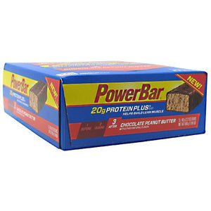 PROTEIN+ 20g BAR Chocolate Peanut Butter 15 / 2.15 oz by Power Bar (2588410642517)