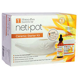 Neti Pot Ceramic Starter Kit KIT by Himalayan Institute (2584225448021)