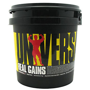 REAL GAINS Chocolate 6.85 lbs by Universal Nutrition