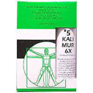 Nuage Tissue Salts Kali Muriaticum 125 Tabs by NuAge Laboratories (2588808151125)