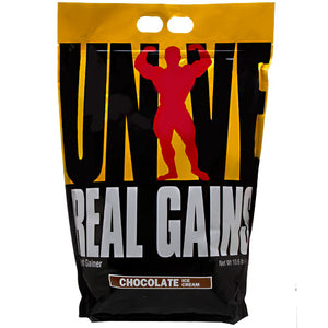 REAL GAINS Chocolate 10.5lbs by Universal Nutrition