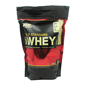 100% Whey Gold Vanilla Ice Cream 1 lbs by Optimum Nutrition