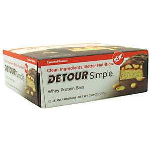 Detour Simple Caramel Peanut 2.1 oz(Pack of 12) by Forward Foods (2588432269397)
