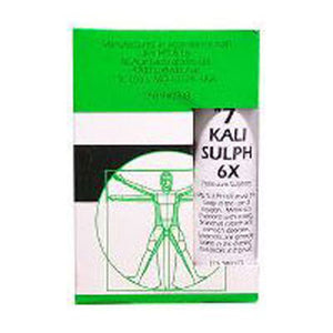Nuage Tissue Salts Kali Sulph 125 Tabs by NuAge Laboratories (2588808347733)