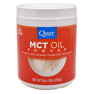 QUEST MCT OIL POWDER 50 serving / 16 oz by QUESTBAR (2590262394965)