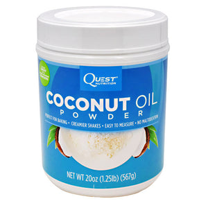QUEST COCONUT OIL POWDER 56 servings / 20 oz by QUESTBAR (2590262427733)