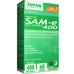 SAM-e 400 60 Tabs by Jarrow Formulas