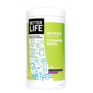 All-Purpose Cleaner Wipes 6 X 70 Count by Better Life (2590268096597)