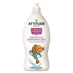 little Ones Dishwashing Liquid Sweet Lullaby 23.7 OZ by Attitude (2587700854869)
