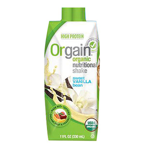 Shake Sweet Vanilla Bean Vegan 11OZ(case of 12) by Orgain