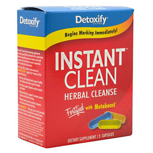 Instant Clean Herbal Cleanse 3 Caps by Detoxify (2590274093141)