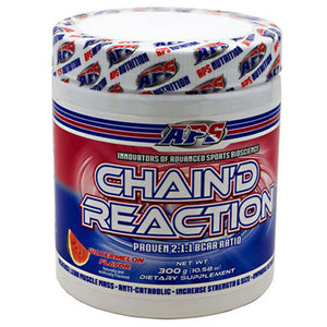 Chain'd Reaction Blue Rasp 25 S by Aps Nutrition (2587714584661)