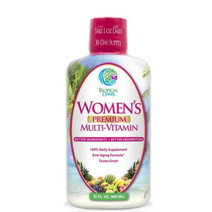 Women's Premium Multi-Vitamin 32 oz by Tropical Oasis