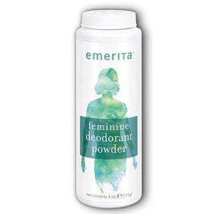 Feminine Deodorant Powder 4 oz by Emerita