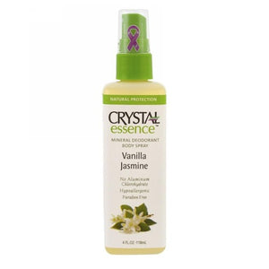 Mineral Deodorant Spray Vanilla Jasmine 4 oz by Crystal (2587722154069)