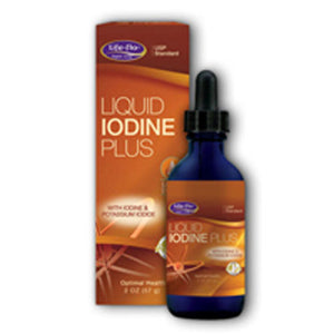 Liquid Iodine Plus Orange 2 oz by Life-Flo  (2587723038805)
