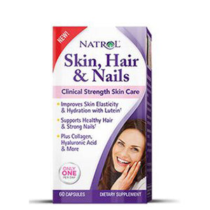 Skin - Hair & Nails Formula 60 Caps by Natrol (2590277501013)