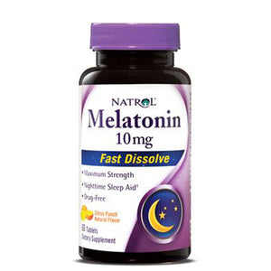 Melatonin Citrus Punch 100 Tablets by Natrol