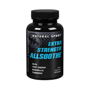 Extra Strength AllSoothe 90 Caps by Natural Sport (2590277763157)