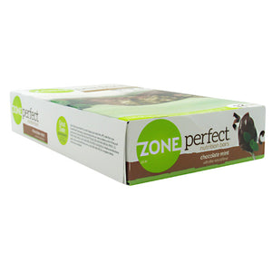 Zone Perfect Nutrition Bar Chocolate Mint 1.58 oz/12 Bars by EAS (2587727462485)