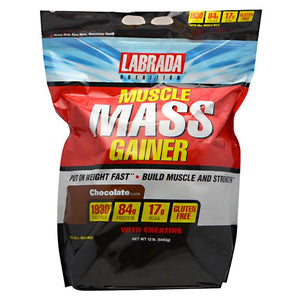 Muscle Mass Gainer Vanilla 6 lbs by LABRADA NUTRITION