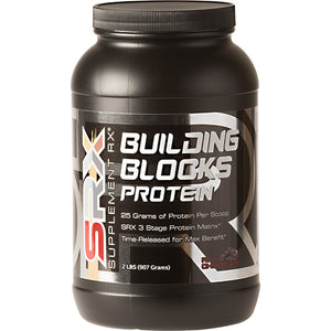 Building Blocks Protein Chocolate 2 lbs by Supplement RX (2587731886165)