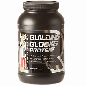 Building Blocks Protein Vanilla 2 lbs by Supplement RX (2587731918933)