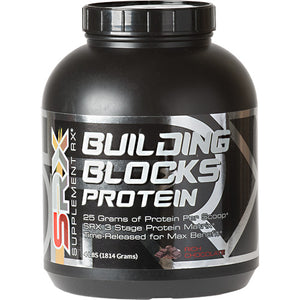 Building Blocks Protein Chocolate 4 lbs by Supplement RX (2587731984469)