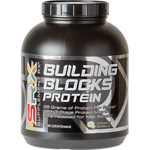 Building Blocks Protein Vanilla 4 lbs by Supplement RX (2587732017237)