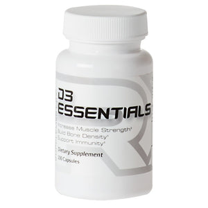 D3 Essentials 100 Caps by Supplement RX (2587732246613)