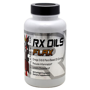 RX Oils Flax 120 Caps by Supplement RX (2587733164117)