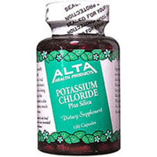 Potassium Chloride & Silica 100 Caps by Alta Health