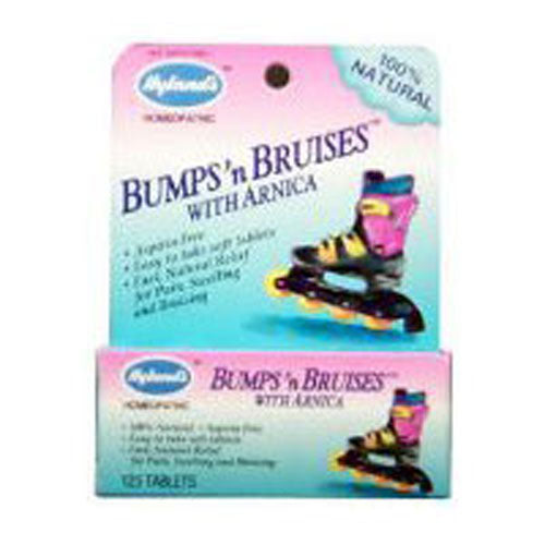 Childrens Bumps N Bruises w/Arnica 125 Tabs by Hylands