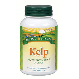Kelp 120 Tablets by Sunny Green
