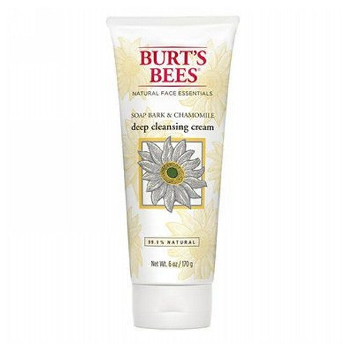 Soap Bark & Chamomile Deep Cleansing Cream 6 Oz by Burt's Bees