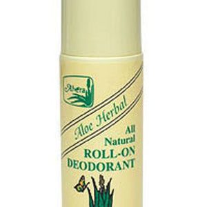 Aloe Based Roll-On Deodorant Herbal, 3 OZ by Alvera
