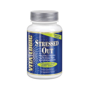 Stressed Out 30 Vegetarian Tabs by Vita Logic
