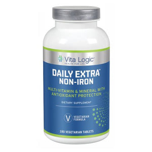 Daily Extra Non-Iron 180 Vegetarian Tabs by Vita Logic