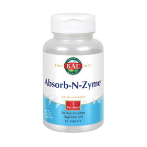 Absorb-N-Zyme 90 Tabs by Kal (2590201577557)