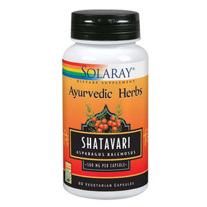 Shatavari 60 Capsules by Solaray