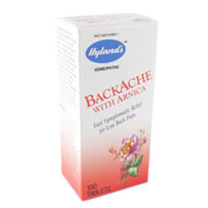 Backache With Arnica 100 Tabs by Hylands (2583988437077)