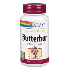 Butterbur Extract 60 Caps by Solaray (2590203969621)